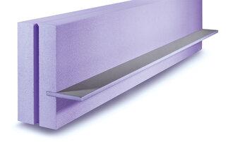 NEU – JACKODUR<sup>®</sup> Dämmschalung Maxi – Neue Deckenrandschalung  für eine maximale Dämmung von Betondecken