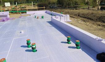Neues Lebens- und Gesundheitszentrum in Bünde baut auf JACKODUR<sup>®</sup> Atlas – für eine optimal gedämmte Bodenplatte und hohen Wohnkomfort