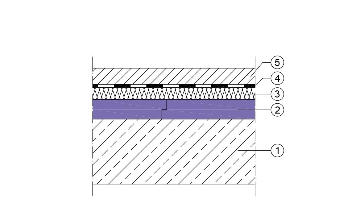 Favorit Dämmung unter Estrich | JACKON Insulation HW03
